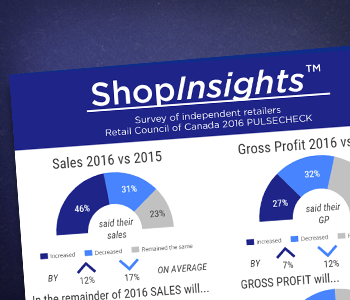 ShopInsights: Pulse Check 2016 – Survey of independent retailers