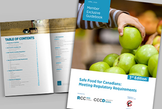 Safe Food for Canadians: Meeting Regulatory Requirements for ALL Retailers, 3rd Edition
