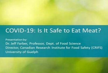 COVID-19: Is it safe to eat meat?