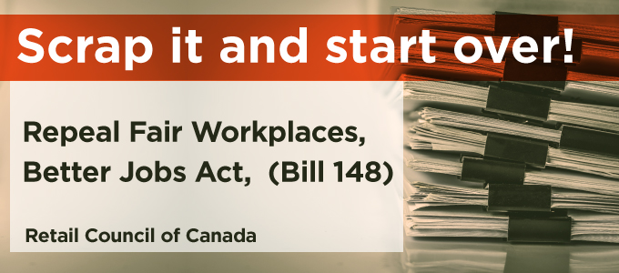 Scrap it and start over Repeal fair workplaces