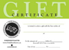 bookseller gift certificates