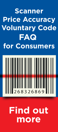 Scanner price accuracy voluntary code FAQ for consumers - Find out more