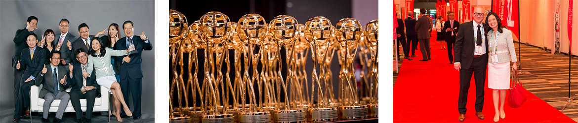 Ramping up to celebrate for new product innovation in retail