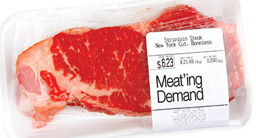 Meat'ing demand: Reported declines vs. what's in consumers grocery basket