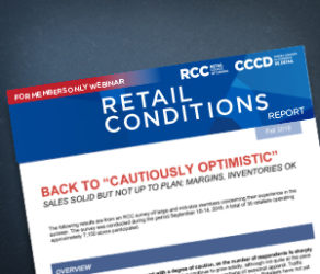 Retail Conditions Report