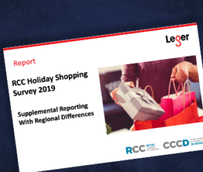 RCC Holiday Shopping Survey 2019