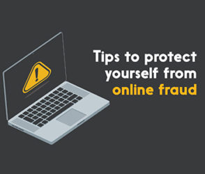 Tips to protect yourself from online fraud