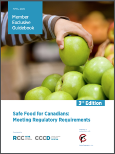 Safe Food for Canadians Guidebooks
