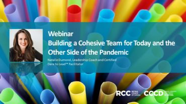 Building a Cohesive Team for Today and the Other Side of the Pandemic