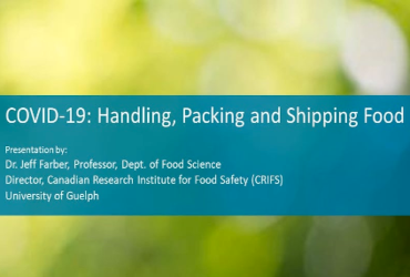 COVID-19: Handling, packaging and shipping food