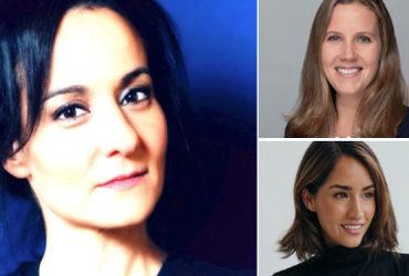 Diana Dimitian, Managing Director South Europe Levi Strauss & Co | Alexandra Zatarain, Co-Founder Eight Sleep | Amanda Nichols from Kronos