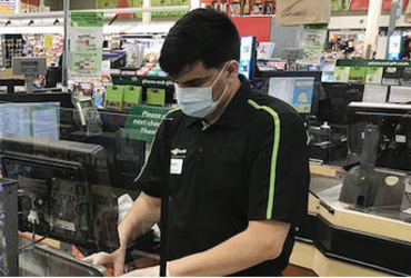 BC's essential grocery, hardware store employees should get pandemic pay