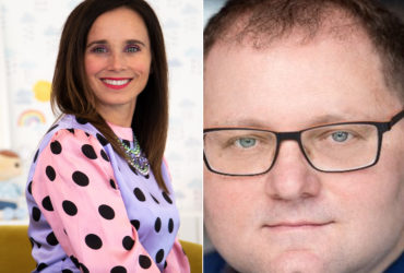 Sarah Jordan, CEO Mastermind Toys and Jason Goldberg CCSO at Publicis