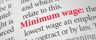 Minimum wage to increase to $12.95 on April 1, 2021