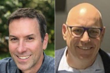 Scott Arsenault, President of Ren's Pets and Rob Garf, VP Strategy & Insights, Salesforce