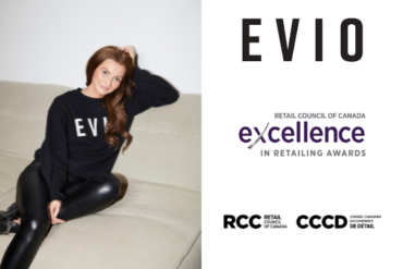 From women's shelter to beauty brand success story, female-led, Canadian beauty brand Evio recognized as 2021 Independent Retail Ambassador of the Year by Retail Council of Canada